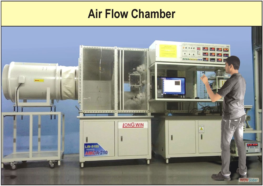 Air Flow Chamber Factory Photograph