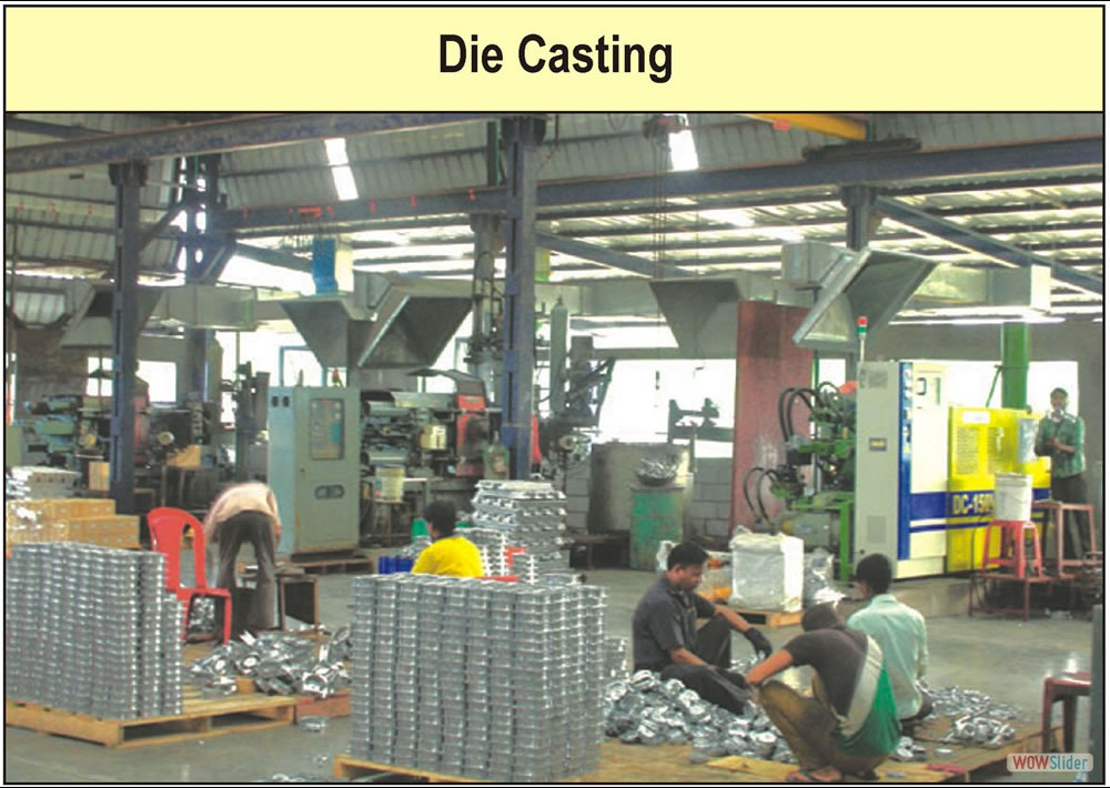 Die Casting Factory Photograph