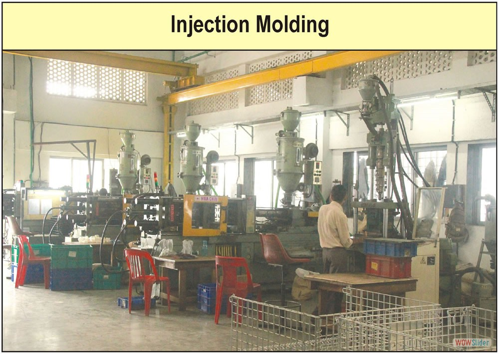 Injection Molding Factory Photograph