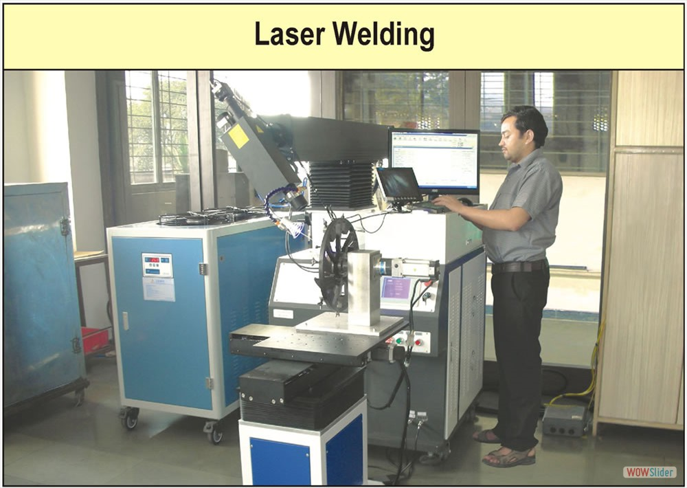 Laser Welding Factory Photograph