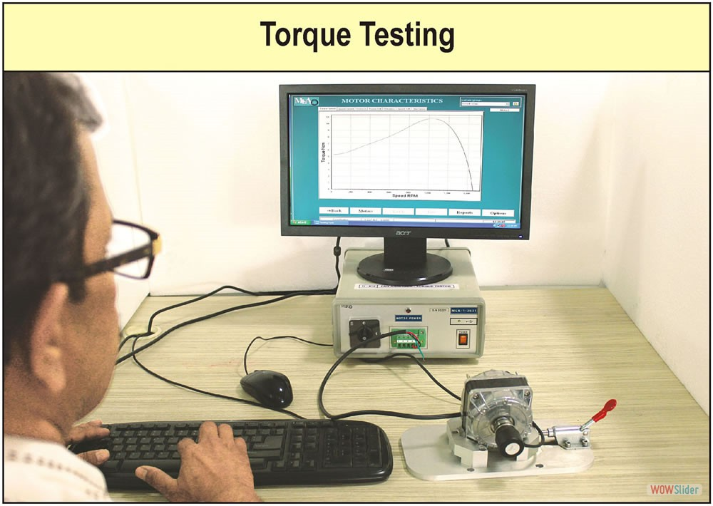 Torque Testing Factory photograph