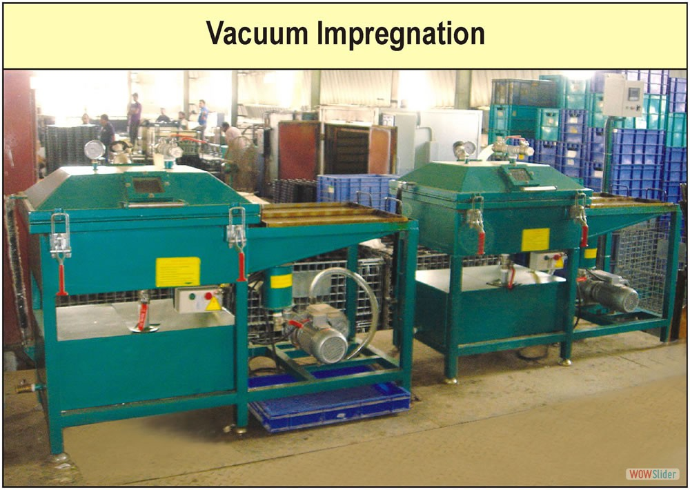 Vacuum Impregnation Factory Photograph